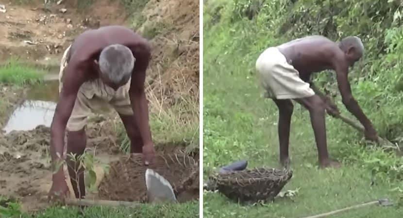 3 capa Durante quase 30 anos homem escavou sozinho um canal que foi capaz de levar agua para vila seca