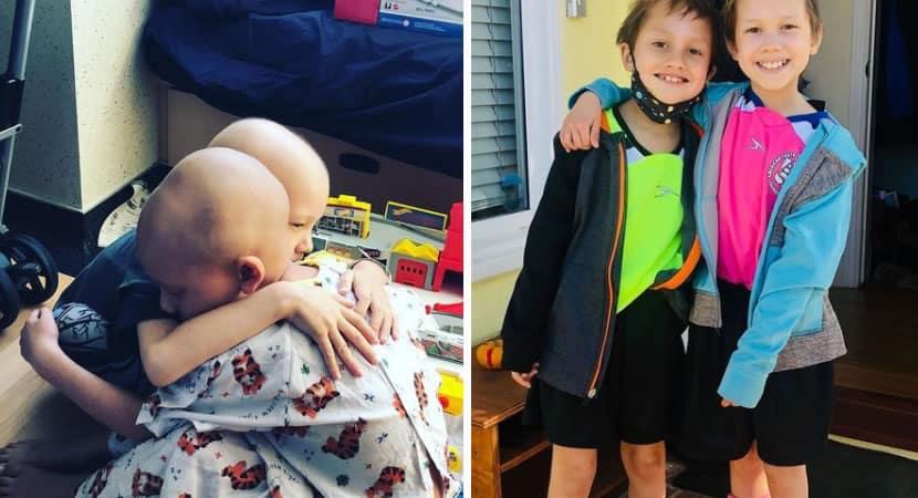 3 capa Irmaos sao diagnosticados com raro cancer cerebral em um intervalo de duas semanas Eles lutam juntos para sobreviver