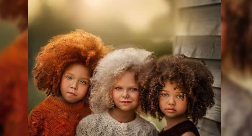 capafotografa encanta mostrando a beleza das criancas cacheadas As diferencas devem ser celebradas