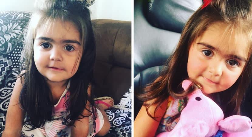capamulher que trabalha como designer de sobrancelha e pressionada a depilar a filha de 2 anos