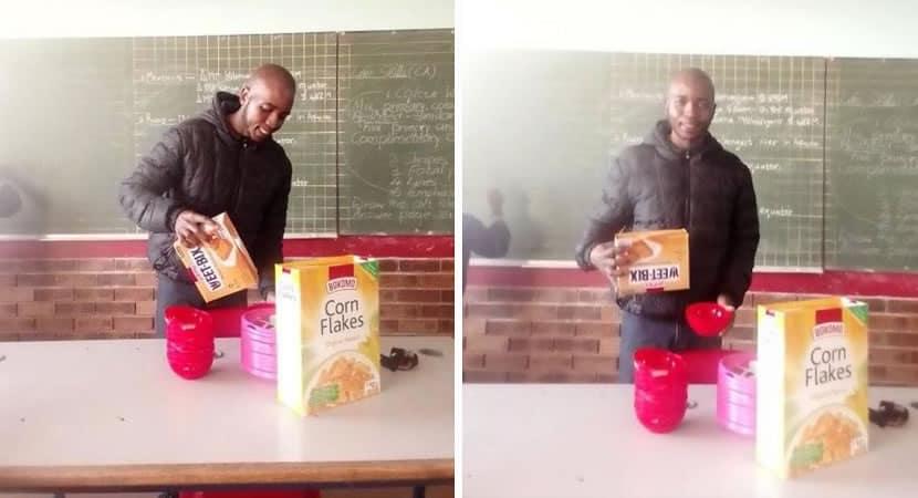 1 capa Nao permito que meus alunos aprendam com fome professor usa proprio salario para alimentar criancas