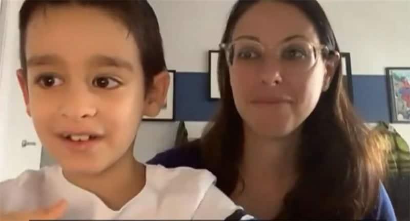 3nunca tinha visto as estrelas gracas a terapia genetica menino de 8 anos recupera visao e realiza sonho