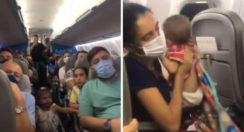5 capa Passageiros fazem vaquinha durante voo para ajudar mae que viajava com bebe doente