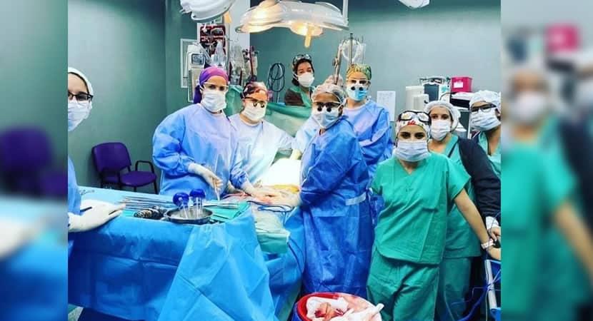 5 capa So elas Pela primeira vez equipe formada apenas por medicas realiza transplante de figado