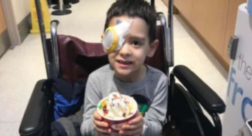 capanunca tinha visto as estrelas gracas a terapia genetica menino de 8 anos recupera visao e realiza sonho