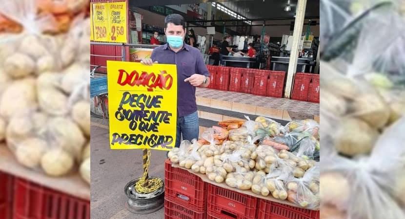 capasupermercado impressiona com generosidade ao anunciar doacao de comida durante pandemia