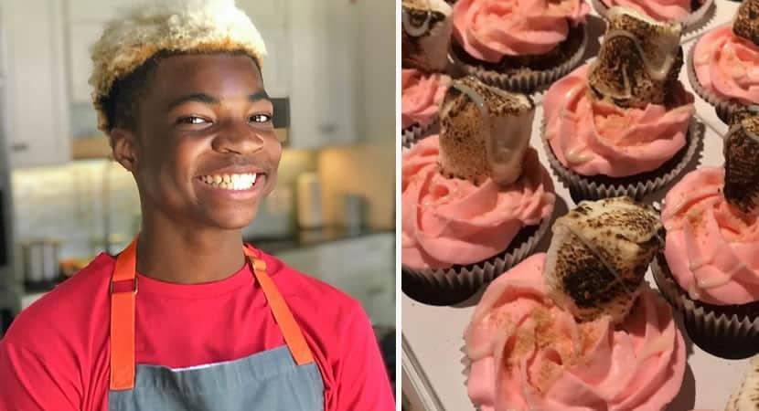 capatenho um proposito aos 11 anos menino abre padaria e doa comida para sem tetos