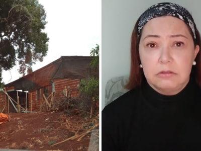 1 capa Ao descobrir que aluno morava em casa destelhada professora organiza doacoes Vao consertar seu lar