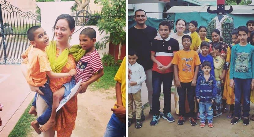 1 capa Mulher vende todos os bens para adotar 11 criancas que foram abandonadas e passavam fome