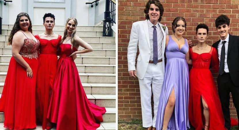 2homens nao vestem isso desconhecido dispara ofensas a adolescente que usava vestido em formatura