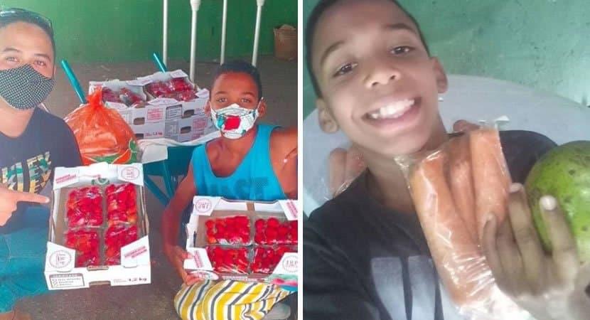 2menino tenta comprar presente para a mae com R12 comove a internet e recebe chuva de doacoes