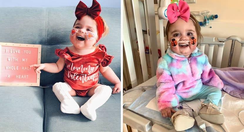 3 capa Bebe mais feliz do mundo inteiro depois de passar a vida no hospital menina finalmente recebe alta