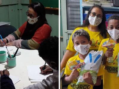 3 capa Professora transforma sua casa em sala de aula para alunos carentes Reforco do Amanha