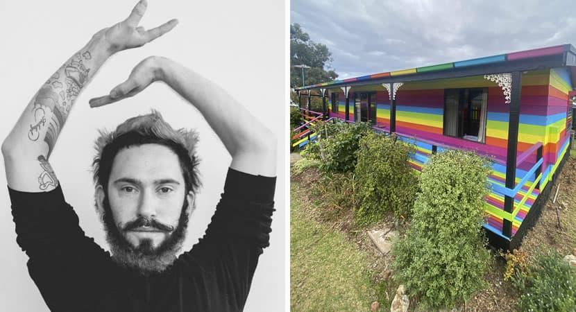 4 capa Ameacado por ser homossexual homem recebe ajuda de mais de 100 vizinhos e pinta casa de arco iris