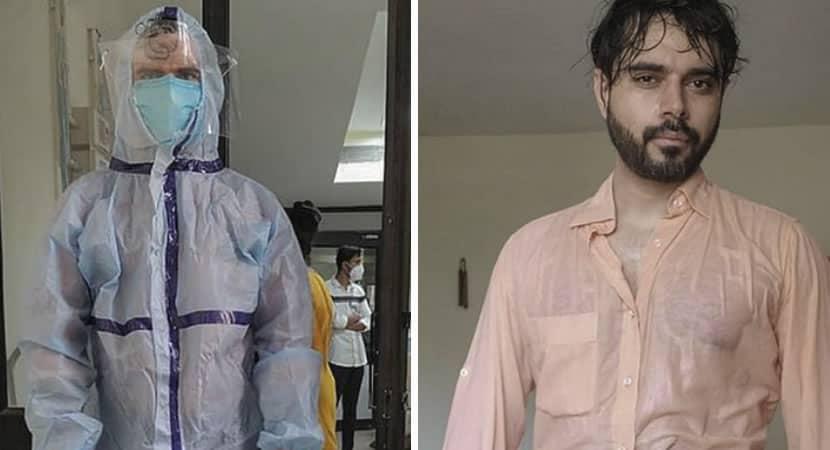 5 Depois de um dia de trabalho medico exibe a dura realidade dos profissionais de saude na pandemia