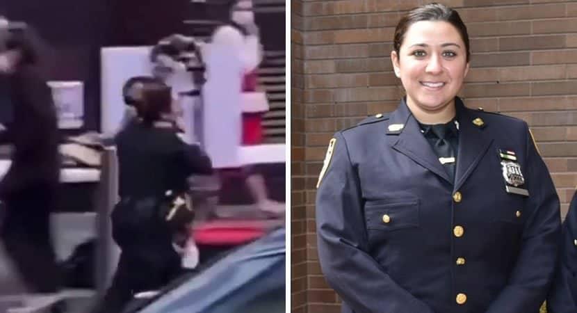 5 capa Heroina Policial salva menininha de 4 anos que tinha sido atingida em tiroteio