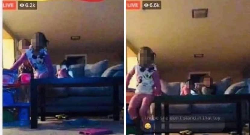 6 capa Mae coloca filhos ao vivo no Facebook e pede para que amigos os olhem enquanto ela fuma