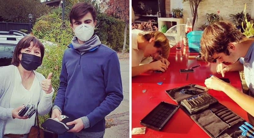 capajovem conserta celulares estragados e doa a estudantes vulneraveis para ajuda los nos estudos