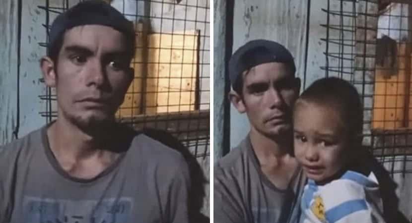 capapai sem emprego cria 4 filhos sozinho apos terem sido deixados pela ex esposa Sobrevive de doacoes