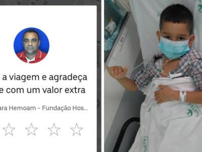 capauber se recusa a receber corrida de mae que tem filho com leucemia Deus manda anjos em nossas vidas