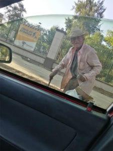 2 2 Idoso de 108 anos que vivia nas ruas e adotado por familia Nao vai mais passar necessidades