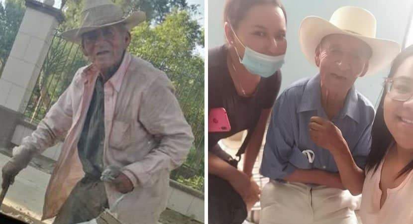 2 capa Idoso de 108 anos que vivia nas ruas e adotado por familia Nao vai mais passar necessidades