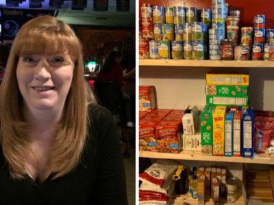 4 Capa Mesmo desempregada mulher ajuda vizinhos famintos com despensa de comida em sua casa