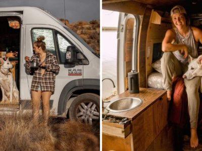5 capa Jovem abandona emprego e relacionamento para viver com seu cachorro em uma van