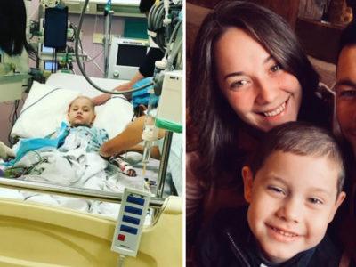 capaaos 6 anos menino vence forma agressiva de leucemia e comemora recuperacao