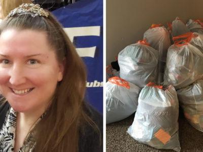 capacansada da bagunca das filhas mae coloca suas coisas em sacos de lixo e so as devolve se ajudarem em casa