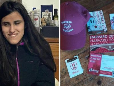 capajovem cega que aprendeu ingles sozinha conquista bolsa integral em Harvard