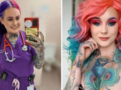 capamedica mais tatuada do mundo revela que foi expulsa de lojas e restaurantes por sua aparencia