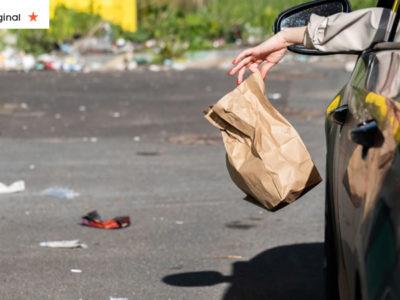 jogar lixo pela janela do carro e falta de educacao e egoismo Tenha consciencia