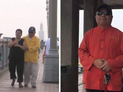 1 capa site Homem percorre ponte na China ha 18 anos para salvar pessoas Ele ja evitou mais 400 mortes