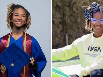 2 capa Mente brilhante Com apenas 12 anos e na faculdade menina planeja se tornar engenheira espacial