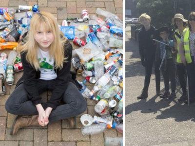 3 capa1 Vitima de bullying e agressao na escola por recolher lixo das ruas menina cria projeto ambiental e mobiliza pessoas