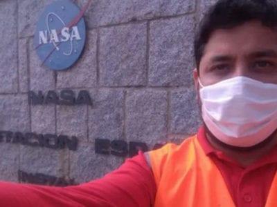 5 capa Homem que foi para a Espanha trabalhar como garcom agora foi contratado pela Nasa
