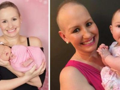 6 capa Eu nao conseguiria abortar com tumor mae se recusa a interromper gestacao e celebra a vida da filha