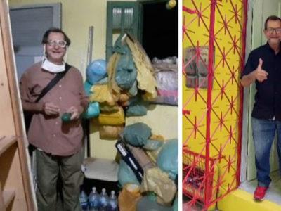 6 capa1 Catador que nao tinha moveis e cozinhava em lata de sardinha ganha mais de 115 mil em doacoes