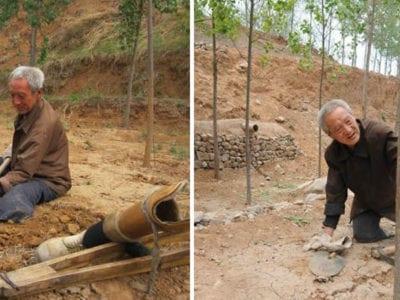 capaaos 72 anos este senhor sem pernas ja plantou mais de 17 mil arvores e salvou uma floresta inteira