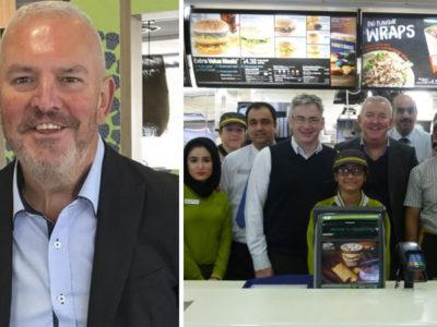 capaex faxineiro de fast food hoje e dono de 20 restaurantes e emprega mais de 2 mil funcionarios