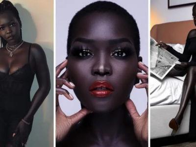 capamodelo africana chamada de suja e aconselhada a clarear a pele se tornou rosto da Chanel