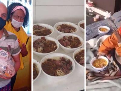 capasei o que e passar fome mulher que viveu nas ruas vira dona de lanchonete e alimenta desabrigados