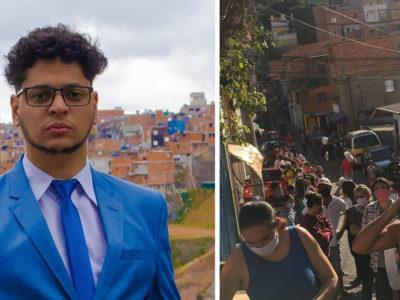 2 capa Jovem cria ONG e alimenta mais de 1300 familias que moram em favela