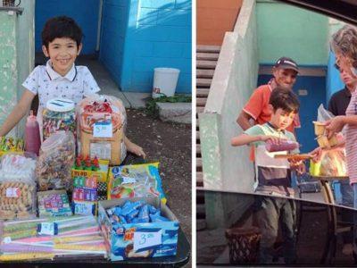 3 capa Menino de 8 anos vende doces na rua para que pai cadeirante nao precise trabalhar no sol