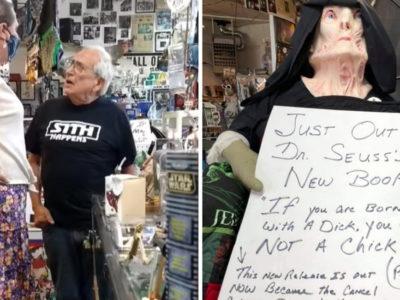 4 capa Dono coloca cartaz ofensivo em loja e cliente trans tira satisfacao Nao podem nos menosprezar