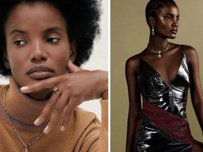 capabrasileira descendente de indios e negros vira modelo e faz sucesso representando marcas como a Dior