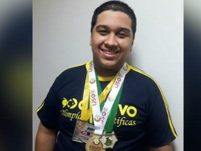 capabrasileiro de apenas 17 anos ganha medalha de ouro em Olimpiada Internacional de Fisica