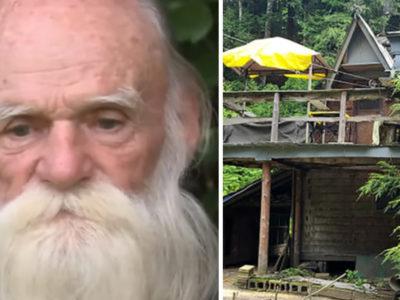 capaidoso de 81 anos perde cabana em que viveu em incendio e populacao arrecada R100 mil para ajuda lo