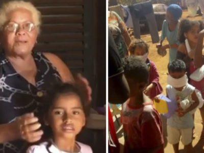 capamorando em casa precaria mulher de 64 anos ainda alimenta 180 vizinhos carentes todos os dias